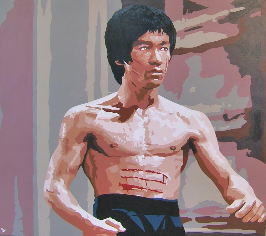 Bruce Lee par @do